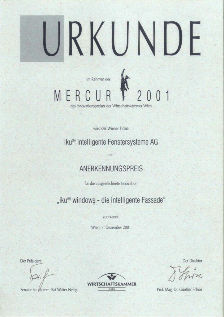 Mercur 2001